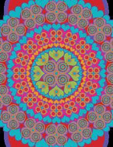 Heart, Mandala,