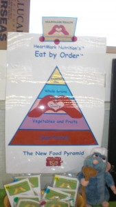 Eat By Order (tm) HeartMark Health lesson See What You Love