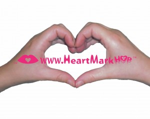 HeartMark Hop Hands and name of game and web address heartmarkhop.com