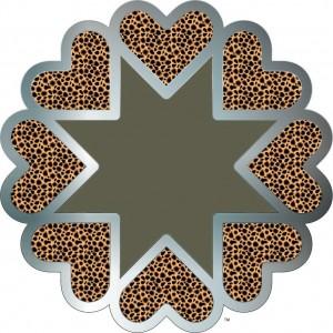 the trademark HeartStar from Planet Heart