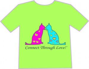 Cats hertmark connect through a kiss