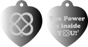 The Power of Infinite Goodness is Inside You! dog tag