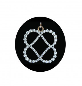 Power of Infinite Goodness (tm) crystal pendant