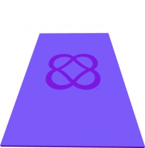 Yoga Mat with the Power of Infinite Goodness trademark logo