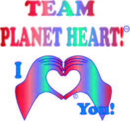 heart hand HeartMark logo for team Planet Heart to raise funds for congenital heart walk