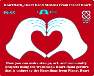 heart hands of various styles from the inventor of the heart hand Tali Lehavi